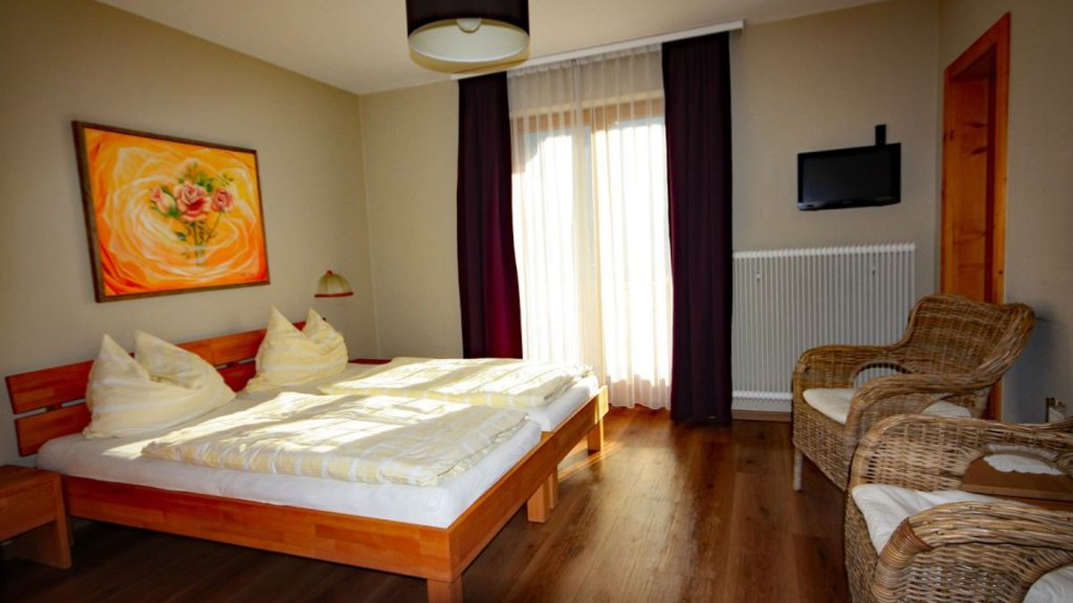 Double room in the annex