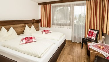 Double room for 2 people in the Standlhof