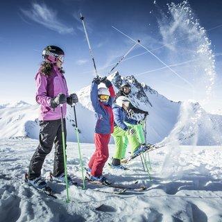 Skiing with children - Spieljoch in Fügen | © Erste Ferienregion im Zillertal / Andi Frank