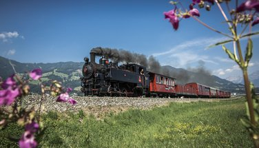 Historic steam train, Zillertalbahn | © zillertaltourismus / Bernhard Huber